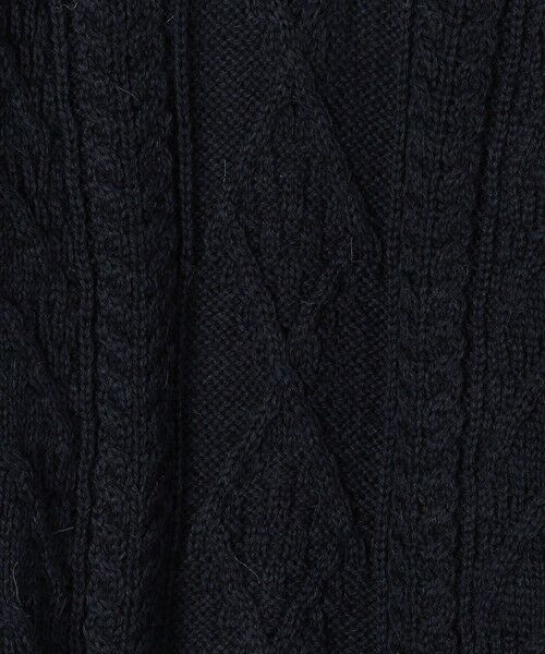 SHIPS for women / シップスウィメン ニット・セーター | 【SHIPS any別注】Oldderby Knitwear: アラン ケーブル ニット プルオーバー | 詳細17
