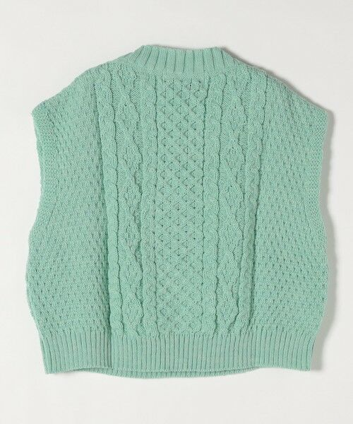 SHIPS for women / シップスウィメン ベスト | 【SHIPS any別注】Oldderby Knitwear: オーバー アラン ケーブル ニット ベスト | 詳細13
