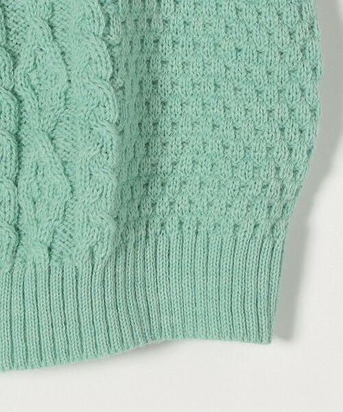 SHIPS for women / シップスウィメン ベスト | 【SHIPS any別注】Oldderby Knitwear: オーバー アラン ケーブル ニット ベスト | 詳細16