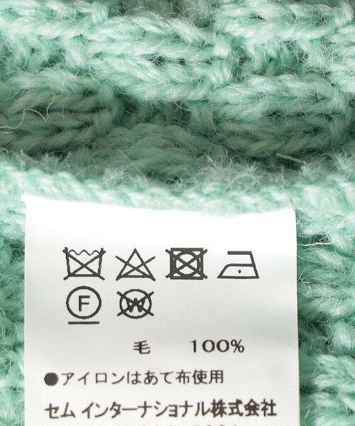 SHIPS for women / シップスウィメン ベスト | 【SHIPS any別注】Oldderby Knitwear: オーバー アラン ケーブル ニット ベスト | 詳細18
