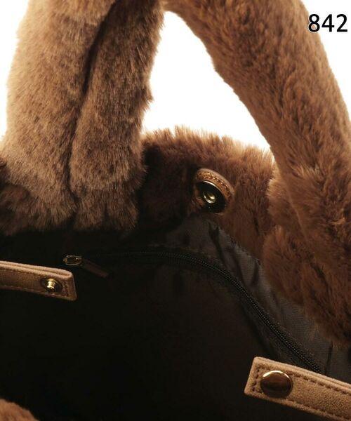 SHOO・LA・RUE / シューラルー トートバッグ | 【WEB限定カラーあり】エコファーランチトートバッグ | 詳細12