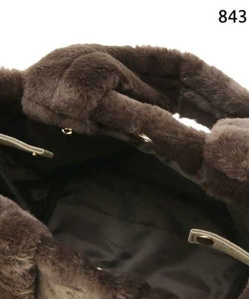 SHOO・LA・RUE / シューラルー トートバッグ | 【WEB限定カラーあり】エコファーランチトートバッグ | 詳細13
