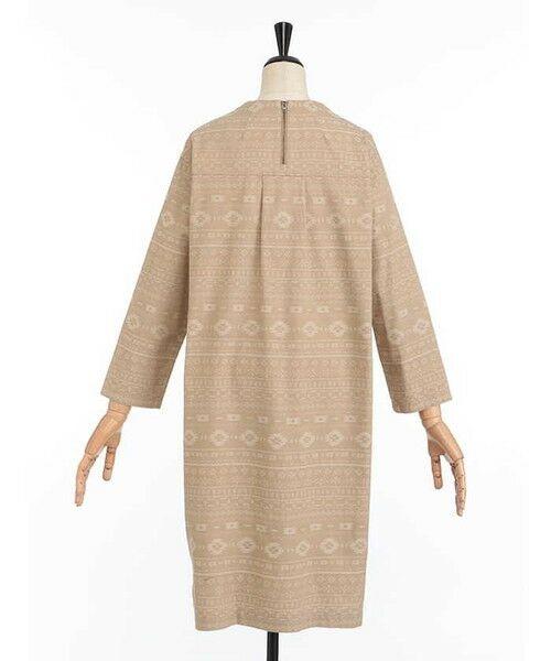 SIMPLE LIFE / シンプルライフ ドレス | ペルーモチーフジャガードワンピース | 詳細2