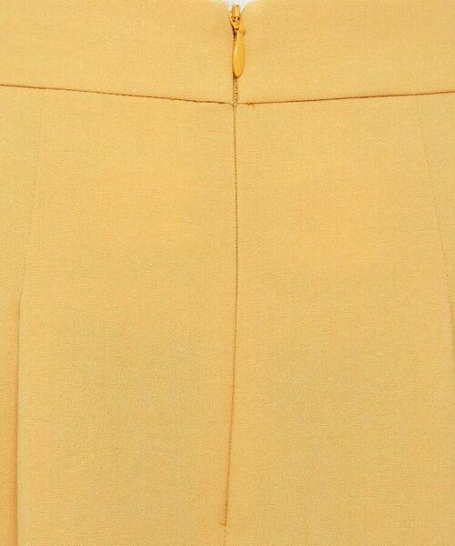 smart pink / スマート ピンク ショート・ハーフ・半端丈パンツ | 【洗える】フロントジッパーミモレワイドパンツ | 詳細6