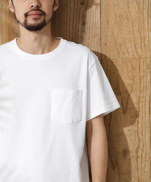 Sonny Label / サニーレーベル Tシャツ   JEMORGAN×SonnyLabel 度詰め天竺ビッグTシャツ(オフ)