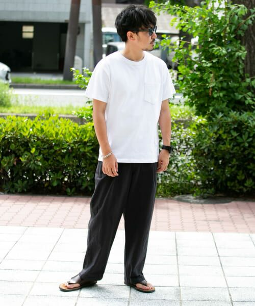 Sonny Label / サニーレーベル Tシャツ   JEMORGAN×SonnyLabel 度詰め天竺ビッグTシャツ   詳細13