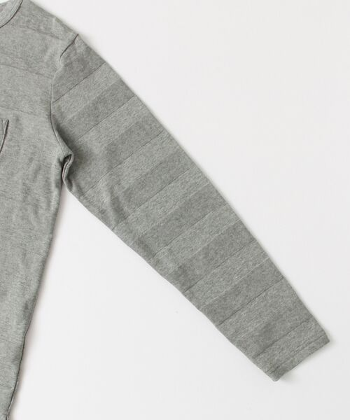 Sonny Label / サニーレーベル Tシャツ | シャドーボーダーロングTシャツ | 詳細16