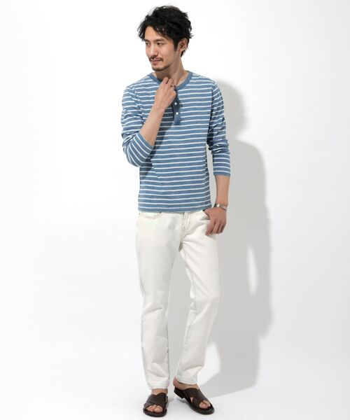 Sonny Label / サニーレーベル Tシャツ | JEMORGAN×Sonny Label 別注ヘンリーロングTシャツ | 詳細9