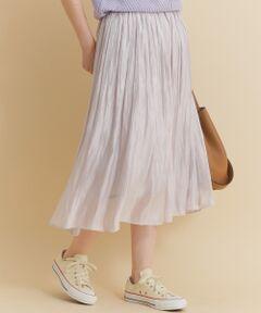 ご好評につき追加予約!ロマンティックなムードにぴったりなシャイニースカート