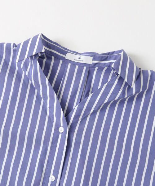 Sonny Label / サニーレーベル シャツ・ブラウス | 袖口ベルト付きロングシャツ | 詳細10