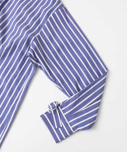 Sonny Label / サニーレーベル シャツ・ブラウス | 袖口ベルト付きロングシャツ | 詳細11