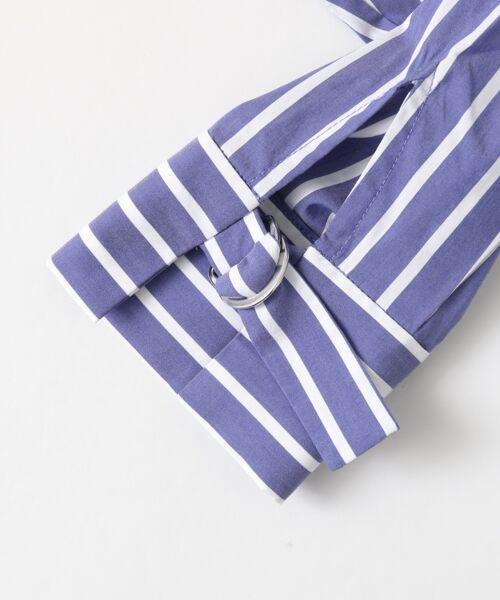 Sonny Label / サニーレーベル シャツ・ブラウス | 袖口ベルト付きロングシャツ | 詳細12