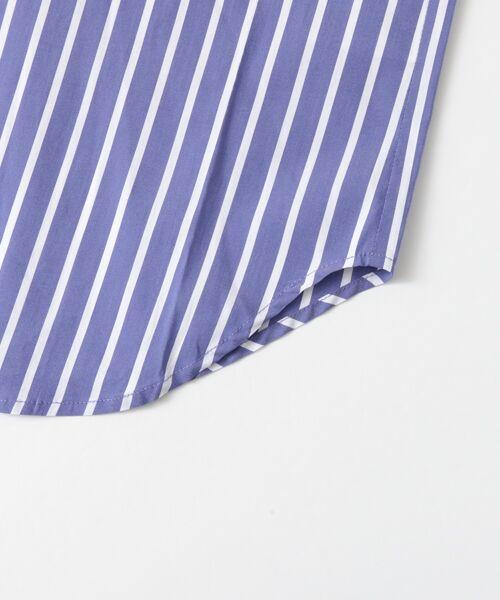 Sonny Label / サニーレーベル シャツ・ブラウス | 袖口ベルト付きロングシャツ | 詳細13