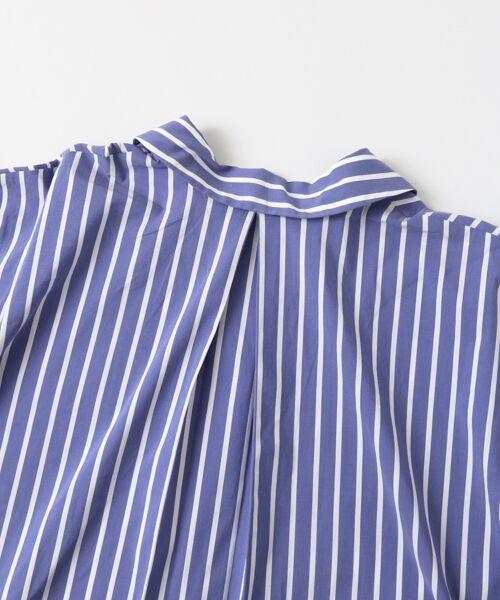Sonny Label / サニーレーベル シャツ・ブラウス | 袖口ベルト付きロングシャツ | 詳細15