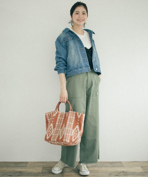 Sonny Label / サニーレーベル その他パンツ | チノワイドパンツ | 詳細3