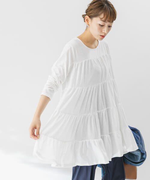 Sonny Label / サニーレーベル Tシャツ   ティアードカットチュニックプルオーバー   詳細10