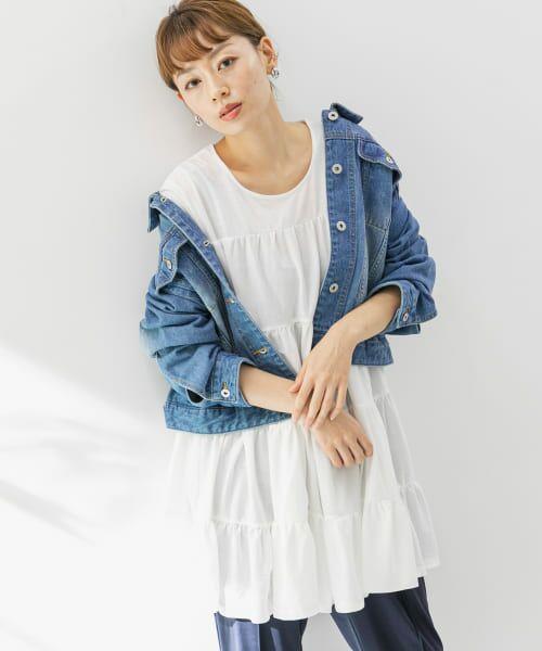 Sonny Label / サニーレーベル Tシャツ   ティアードカットチュニックプルオーバー   詳細13