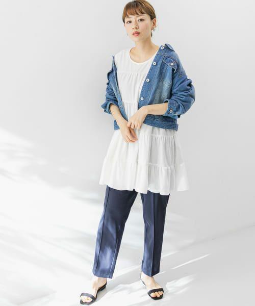 Sonny Label / サニーレーベル Tシャツ   ティアードカットチュニックプルオーバー   詳細14
