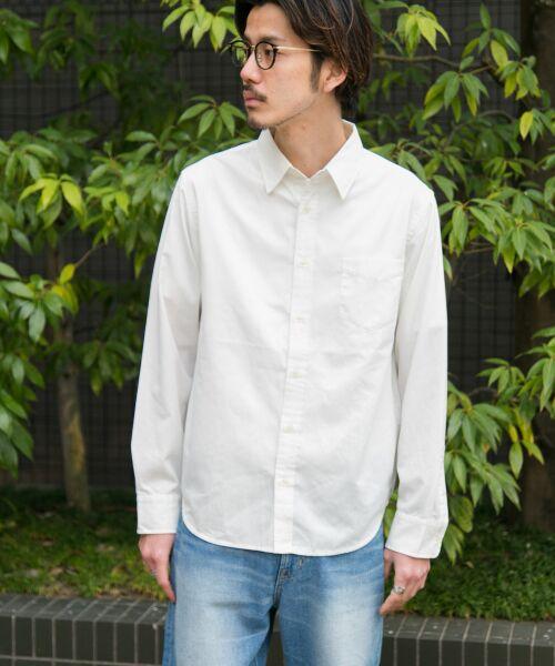 Sonny Label / サニーレーベル シャツ・ブラウス | クイックドライレギュラーシャツ(ホワイト)