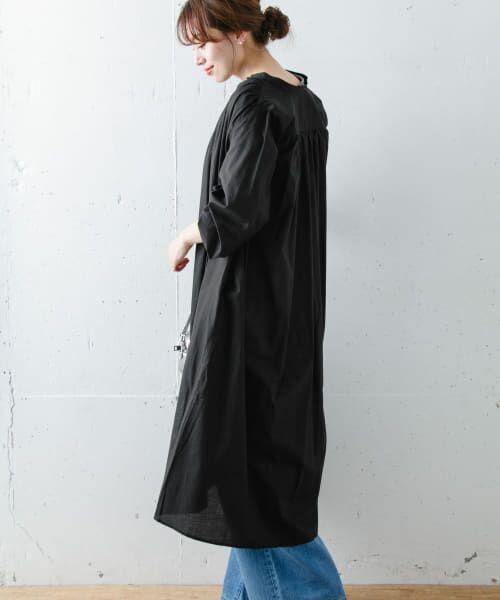 Sonny Label / サニーレーベル ワンピース   ギャザーシャツワンピース   詳細15
