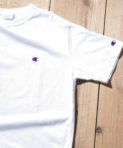 Sonny Label / サニーレーベル Tシャツ | Champion BASIC T-SHIRTS(010ホワイト)