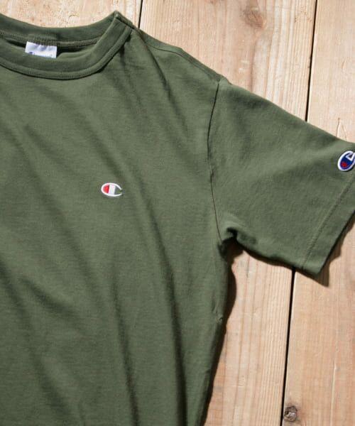 Sonny Label / サニーレーベル Tシャツ | Champion BASIC T-SHIRTS(570グリーン)