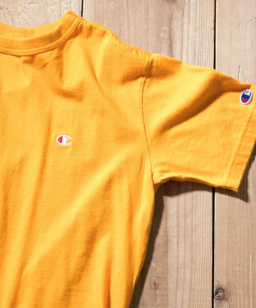 Sonny Label / サニーレーベル Tシャツ | Champion BASIC T-SHIRTS(740イエロー)