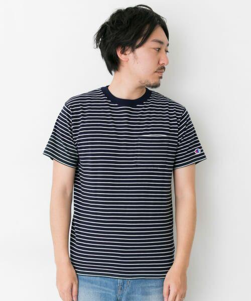 Sonny Label / サニーレーベル Tシャツ | Champion ボーダーTシャツ | 詳細1