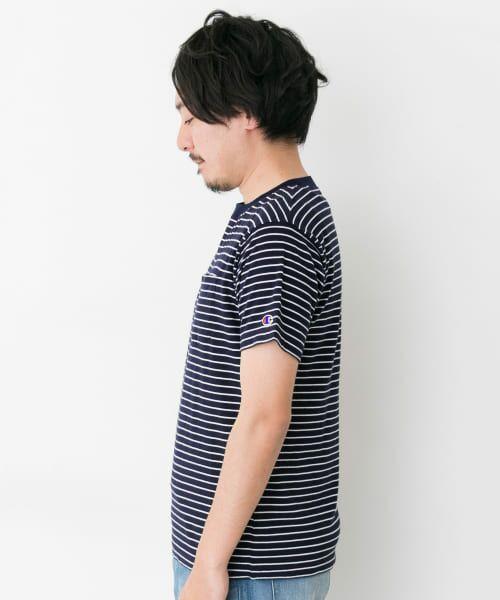 Sonny Label / サニーレーベル Tシャツ | Champion ボーダーTシャツ | 詳細2