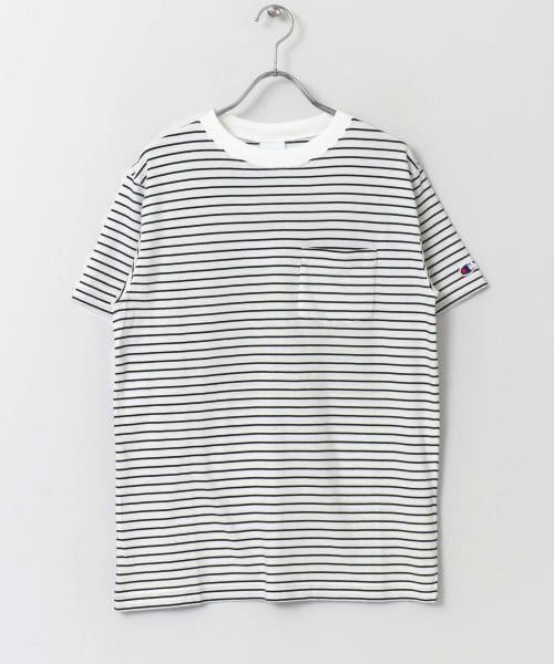 Sonny Label / サニーレーベル Tシャツ | Champion ボーダーTシャツ | 詳細4