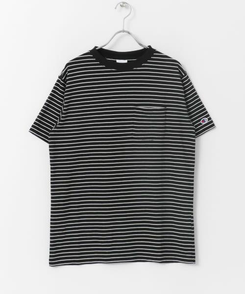 Sonny Label / サニーレーベル Tシャツ | Champion ボーダーTシャツ | 詳細5