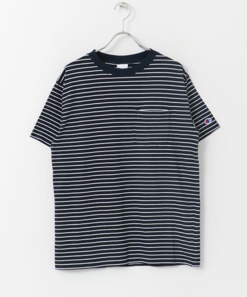 Sonny Label / サニーレーベル Tシャツ | Champion ボーダーTシャツ | 詳細6