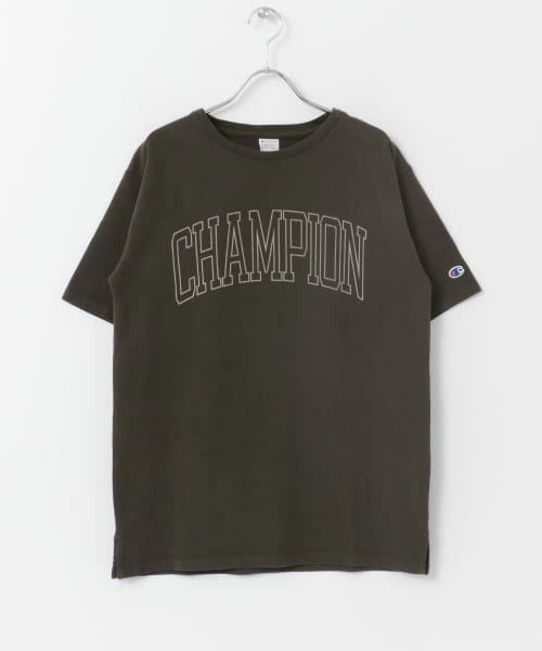 Sonny Label / サニーレーベル Tシャツ | Champion 製品染めロゴTシャツ | 詳細1