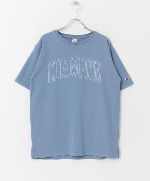 Sonny Label / サニーレーベル Tシャツ | Champion 製品染めロゴTシャツ | 詳細10