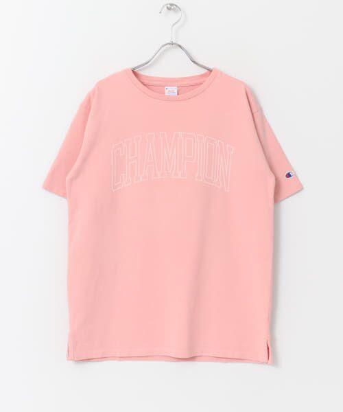 Sonny Label / サニーレーベル Tシャツ | Champion 製品染めロゴTシャツ | 詳細2