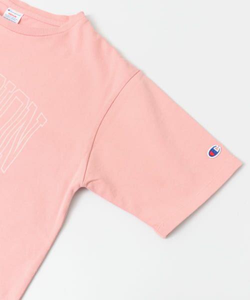 Sonny Label / サニーレーベル Tシャツ | Champion 製品染めロゴTシャツ | 詳細3