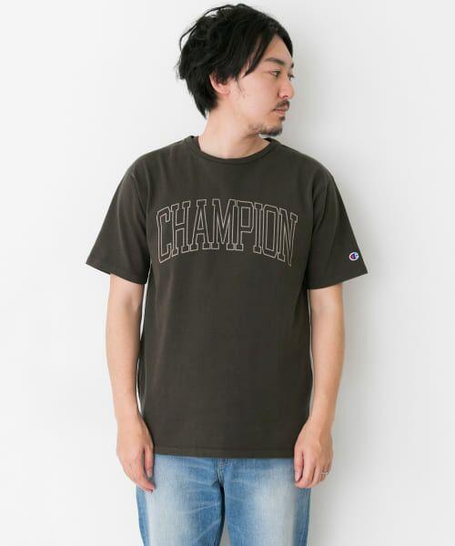 Sonny Label / サニーレーベル Tシャツ | Champion 製品染めロゴTシャツ | 詳細7