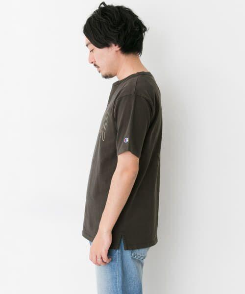 Sonny Label / サニーレーベル Tシャツ | Champion 製品染めロゴTシャツ | 詳細8