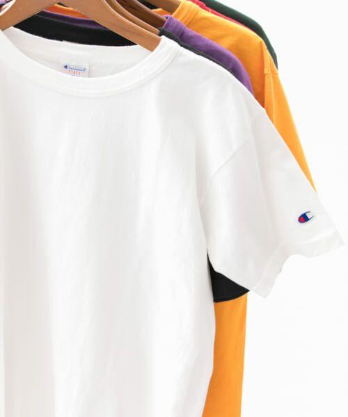 Sonny Label / サニーレーベル Tシャツ | Champion T1011 US T-SHIRTS(001ホワイト)