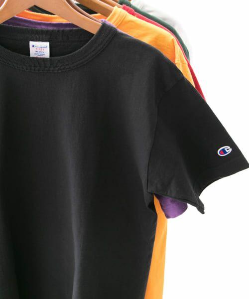 Sonny Label / サニーレーベル Tシャツ | Champion T1011 US T-SHIRTS(090ブラック)