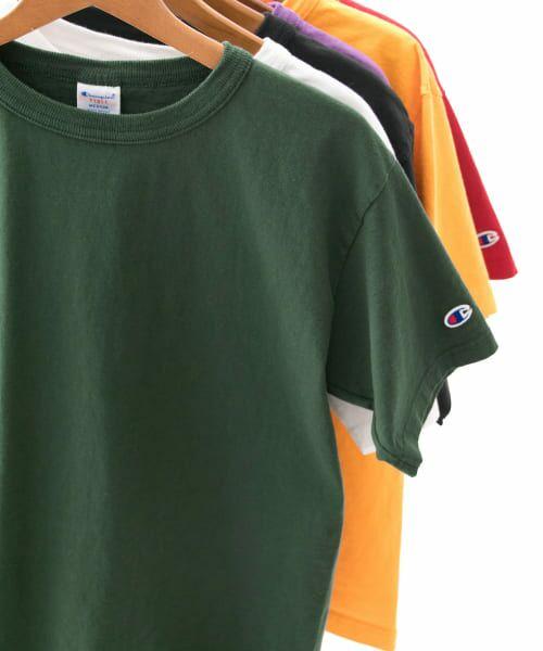 Sonny Label / サニーレーベル Tシャツ | Champion T1011 US T-SHIRTS(560モスグリーン)