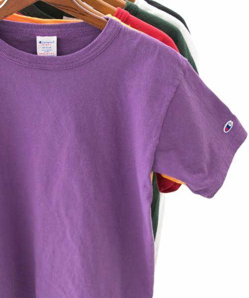 Sonny Label / サニーレーベル Tシャツ | Champion T1011 US T-SHIRTS(265バイオレット)
