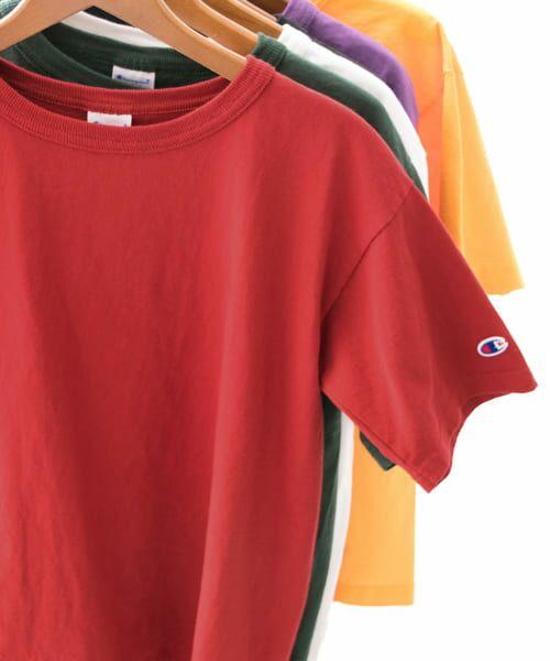 Sonny Label / サニーレーベル Tシャツ | Champion T1011 US T-SHIRTS(950Dレッド)