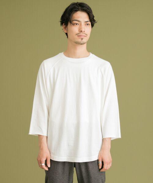 Sonny Label / サニーレーベル Tシャツ | USAcotton七分袖リラックスプルオーバー | 詳細5