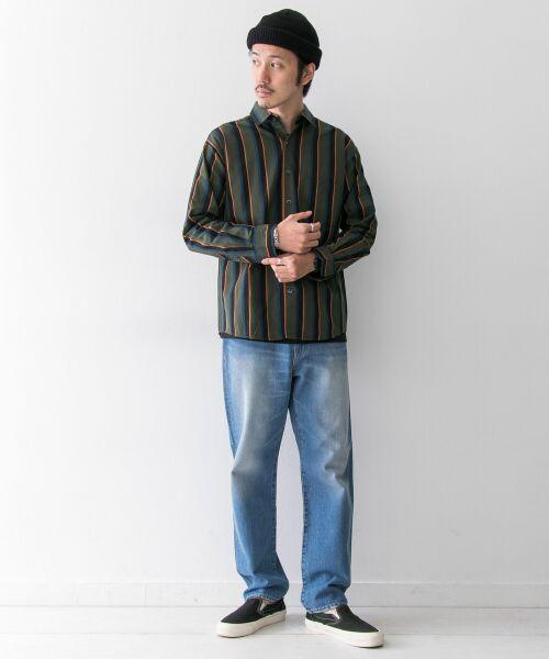 Sonny Label / サニーレーベル シャツ・ブラウス | ジャパンファブリックマルチストライプシャツ | 詳細1