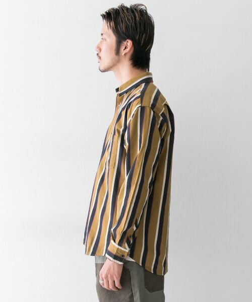Sonny Label / サニーレーベル シャツ・ブラウス | ジャパンファブリックマルチストライプシャツ | 詳細14