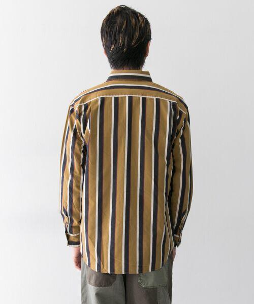 Sonny Label / サニーレーベル シャツ・ブラウス | ジャパンファブリックマルチストライプシャツ | 詳細15