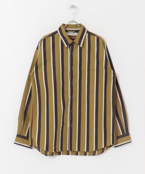 Sonny Label / サニーレーベル シャツ・ブラウス | ジャパンファブリックマルチストライプシャツ | 詳細16