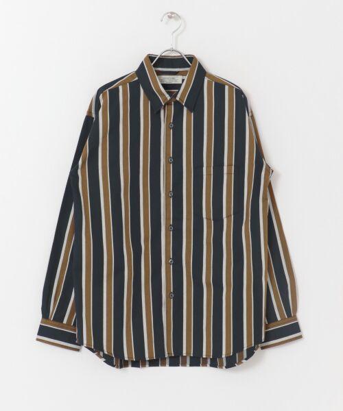 Sonny Label / サニーレーベル シャツ・ブラウス | ジャパンファブリックマルチストライプシャツ | 詳細18