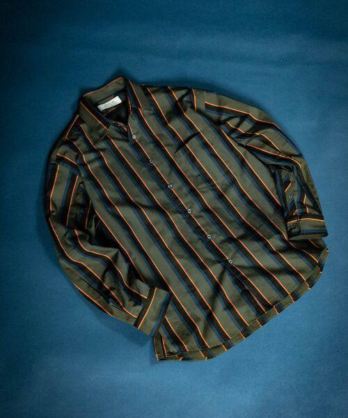 Sonny Label / サニーレーベル シャツ・ブラウス | ジャパンファブリックマルチストライプシャツ | 詳細2